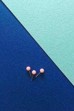#blue #cyan #aqua #pins