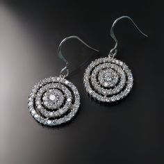 Mother's Day gifts that will make mom sparkle: imitation diamond (CZ) earrings #mothersday #jewelry #gifts