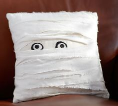 Mummy Decorative Pillow | Pottery Barn