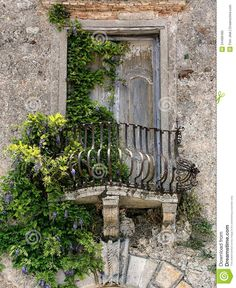 Old+windows+in+Tuscany | Old Balcony In Tuscany Royalty Free Stock Photo - Image: 34488495