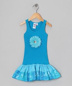 Take a look at this Blue Butterfly Dress - Toddler & Girls by Bubblegum Diva on #zulily today!