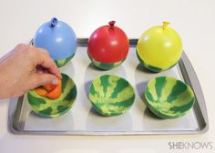 Edible watermelon bowls - fill with sorbet or ice cream - SheKnows.com