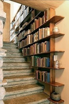 lots of book space - beauty