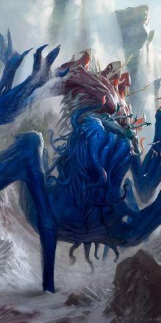 Sire of Stagnation - Battle for Zendikar MtG Art