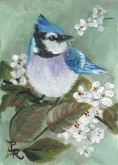 Paulie Rollins~ Blue In White