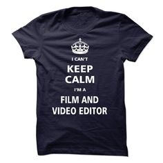I am a Film and Video Editor T-Shirts, Hoodies. ADD TO CART ==►…