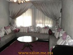 Canapé marocain moderne pour salon | Salon marocain | Pinterest ...
