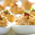 NO Mayo Deviled Eggs - Blood Sugar Solution
