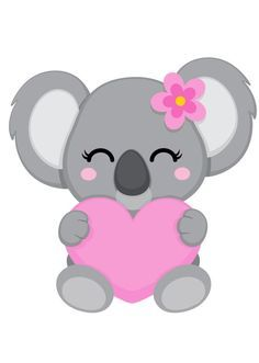 Pin De Betty Castro En Dibujos Infantiles En 2020 Koala Kawaii
