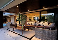 Outdoor Lounge, Outdoor Areas, Indoor Outdoor, Outdoor Decor, Timber Roof, Roof Trusses, Main Entrance, Entrance Doors, Masonry Construction