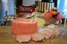 ¡¡Felicidades Macarena !! ❤ #ReposteriaCreativa #LasRozas #Tartas #TartasdeCumpleaños