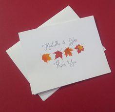thank you card 425 x 55 diy card card name fall wedding card ms word template editable card