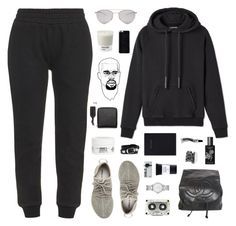 """T.G. //"" by prayingtosaintlaurent ❤ liked on Polyvore featuring adidas Originals, Chanel, Pantone, Marc by Marc Jacobs, Balenciaga, Jamie Clawson, Smashbox, Maison Margiela, TokyoMilk and Mark's Tokyo Edge"