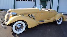 1930's Cord Speedster, Gilmore Car Museum, Hickory Corners, MI