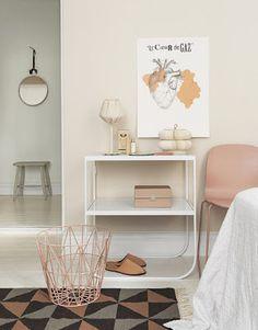 meu canto blog: Ideas de decoración: Rosa y gris