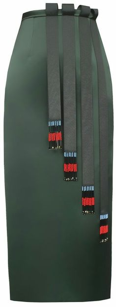 Dark Green Skirt - Famous Tutorial and Ideas Fashion Line, Work Fashion, Fashion Details, Diy Fashion, Fashion Design, Dark Green Skirt, Green Skirts, Ethno Style, Ankara Skirt