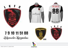 Projeto Brasão Lokomotiv FC + Aplique Camisa