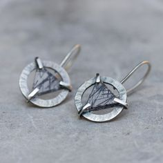 Hey, I found this really awesome Etsy listing at https://www.etsy.com/listing/244382294/modern-earrings-sterling-silver-and