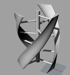 Picture of Printable Turbine To Make Electricity Out of Wind