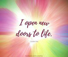 I open...