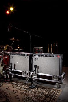 THE DYNAMIC DUO Twins: Fender 65' Twin Reverbs
