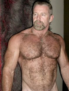 Hot and Hairy Daddy Bear, Baby Daddy, Bear Cubs, Mature Men, Hairy Chest, Older Men, Hairy Men, Men Beard, Hot Guys