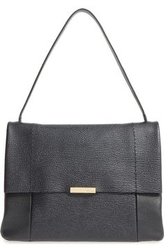 cdf4f8dfc6346f Ted Baker London  Proter  Pebbled Leather Shoulder Bag available at