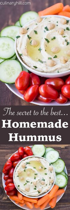 Learn the secret to making the smoothest, creamiest homemade hummus ...