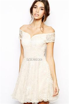 2f764ac09717 Chi Chi London Lace Prom Dress with Bardot Neck (€23) ❤ liked on