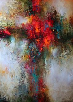 Soul Searching by Cody Hooper at Pippin Contemporary. #abstractart #contemporaryart