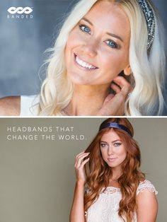 Headbands that change the world. Every headband purchased from http://Banded2Gether.com feeds a child and helps fight cancer.