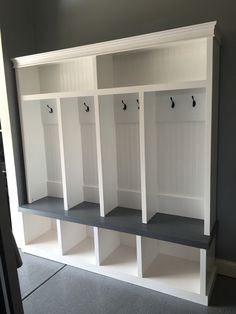 build bench a how closet with cubbies mudroom for storage to