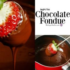 Enjoy your favorite fruit or other yummy snack as This is the recipe for how to make Sugar Free Chocolate Fondue that is easy to make Sugar Free Deserts, Sugar Free Sweets, Sugar Free Recipes, Chocolate Fondue Set, Chocolate Fondue Fountain, Sweets For Diabetics, Diabetic Sweets, Diabetic Recipes, Keto Recipes