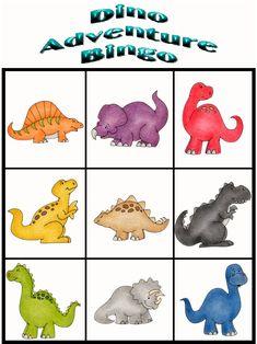 Customize Your Free Printable Dino Adventure Bingo 1