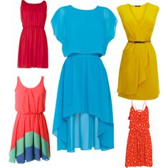 Summer brights, created by chunnkel on Polyvore