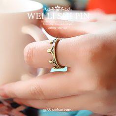 Купить товарКорейский ювелирных украшений имитация новый старый старинные мода женский корона для женщин   серебристо ювелирные золото серебро кольца для салфеток в категории Кольцана AliExpress.            Нам $2.10    $2.33                        Нам $1.50    $2.50                        Нам $2.75