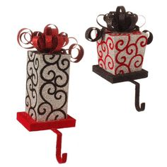 Christmas stockings, holders, & pillows - New Arrivals at Laraines.
