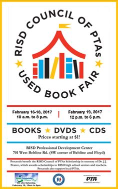 RISD Council of PTA's Used Book Fair