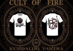 ॐ CULT OF FIRE – Kundalini Tantra 卐 T-shirt