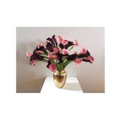 Instagram media by overoseofficial - Pink and burgundy arum Lilies