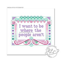 I want to be where the people arent Not only does it misquote a famous mermaid…