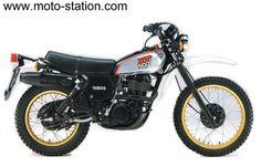 Yamaha XT 500 de 1986