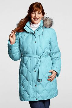 45bb0719d5c Women s Diamond Down Coat from Lands  End 57.00 1x  only light colors  available.