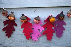 Acorn Crafts: Fall Autumn Projects and Ideas
