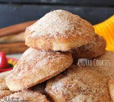 Churro Cinnamon Cookies