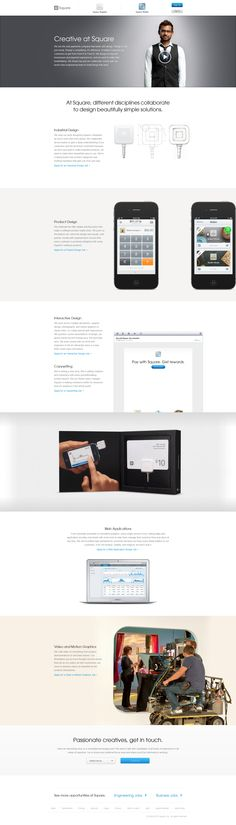 Square Career Section (Creative) #job