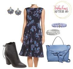 Fall's Dark Floral Trend | Fabulous After 40