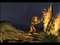 Filme/animação: A descoberta do Fogo