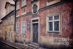 Prague Houses - Joan Carroll. To view or purchase prints, canvases, cards or phone cases visit joan-carroll.artistwebsites.com THANKS!