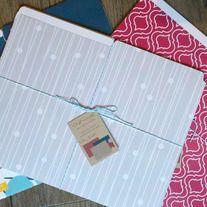 file folders Custom Wedding Invitations, Shower Invitations, File Folders, Fine Paper, My Books, Stationery, Gift Wrapping, Studio, Birthday